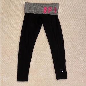 Black PINK Victoria's Secret leggings